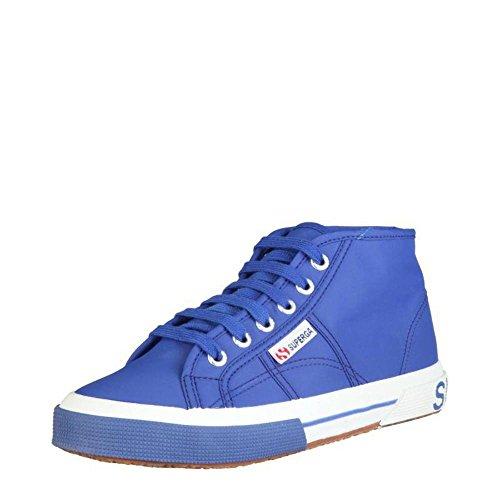 Superga Grün Damen Blau Hohe Sneaker Pluslnylu 2754 rrq6gZ