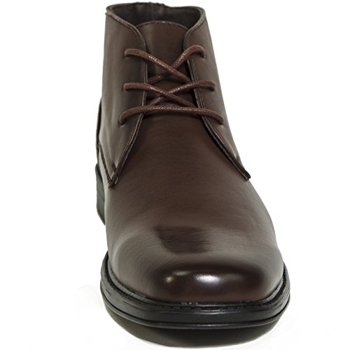 Alpine Swiss Men's Leather Lined Dressy Ankle Boots