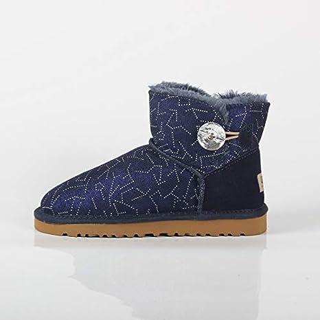 LOLIVEGO Botas De Nieve Zapatos De Algodón Mujer Invierno Madre Zapatos De Algodón Cálido Invierno Zapatos De Mujer ...