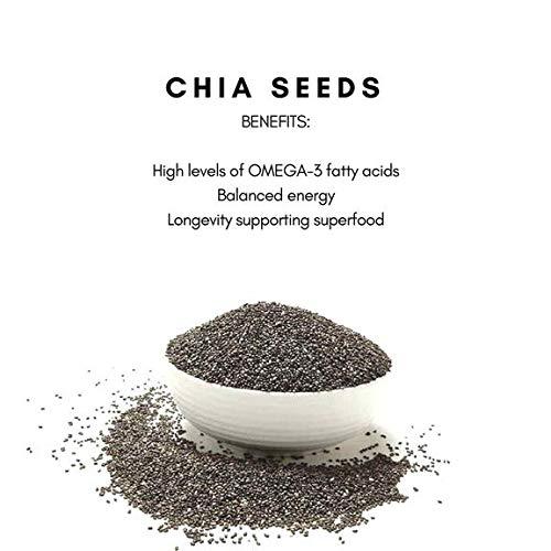 Semillas de Chia, Superalimentos, RESERVA DE MATCHA: Amazon ...