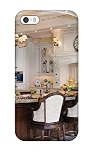High-end Case Cover Protector For Iphone 5/5s(traditional Kitchen With Double Furniture-style Islands)