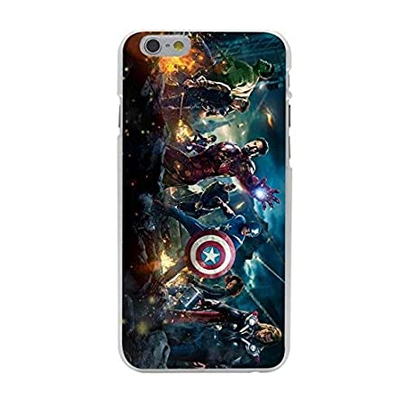 CH Avengers Movie Theme iPhone 7 Hard Case, Avengers Civil War