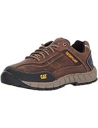 Men's Streamline Leather / Dark Beige Work Shoe