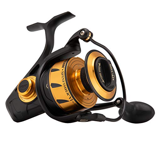 Penn, Spinfisher VI Saltwater Spinning Reel, 6500, 5.6:1 Gear Ratio, 42