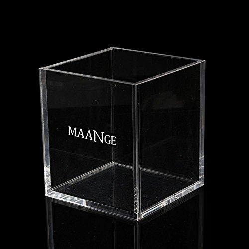 Ownsig Caja de Cepillo de Maquillaje Transparente Organizador de Maquillaje acrílico Caja de Herramientas de Almacenamiento...