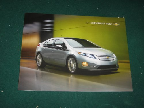 2011 Chevy Volt Sales Brochure; Plug In Electric Car