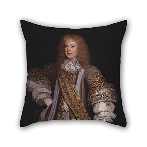 16 X 16 Inches // 40 By 40 Cm Decoration,gift For Home Theater,office,divan,pub,lounge,car Seat Slimmingpiggy The Oil Painting John Michael Wright Sir John Corbet Of Adderley Pillow Covers Of twi
