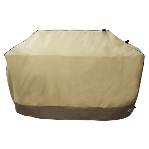 Patio Armor SF40261 60-Inch Premium Medium Grill Cover, Taupe