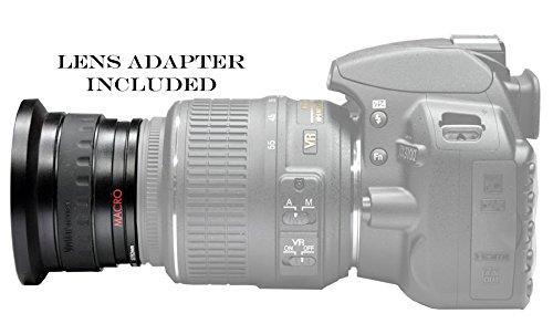 VIVITAR Series 1 0.42X HD FishEye Lens for NIKON 18-55mm D5500 D4s D810 D750 Df
