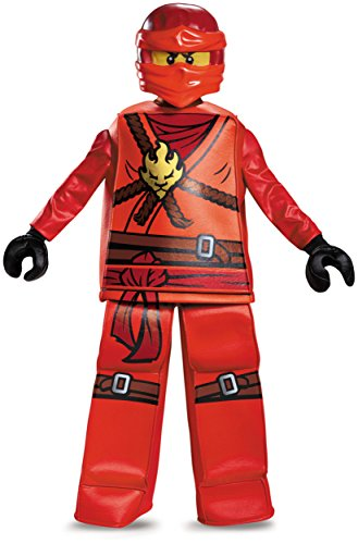 Kai Prestige Ninjago Lego Costume, Small/4-6 -