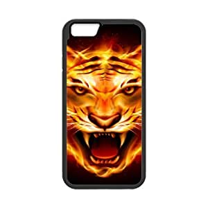 Case Cover For Apple Iphone 4/4S Flame Phone Back Case Custom Art Print Design Hard Shell Protection FG035394