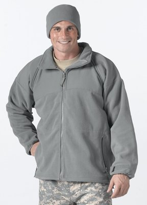 Green Polar Fleece Jacket/Liner, X-Large ()