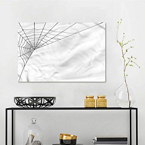 Modern Modern Decorative Painting Spider Web Icon Halloween On Canvas Abstract Artwork W35 -