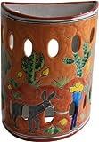 Desert Talavera Ceramic Sconce