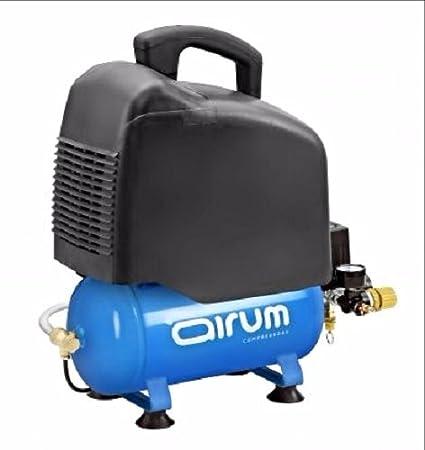 Compresor de pistón AIRUM Vento 231 OM. 6 litros. 2HP. Sin aceite ...