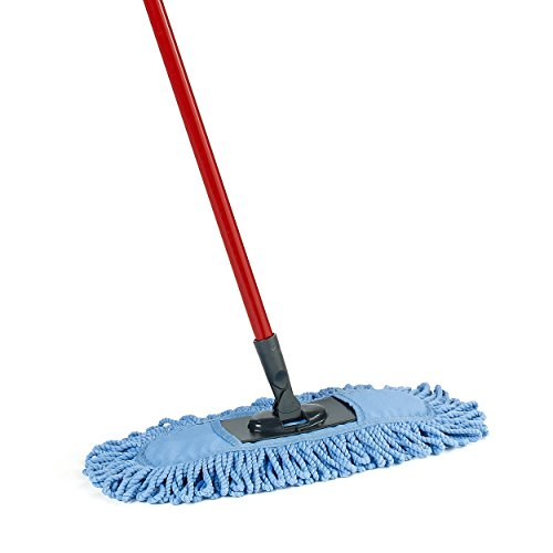 mops and brooms. O-Cedar Dual-Action Microfiber Sweeper Dust Mop Mops And Brooms