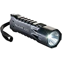 Pelican 3315 LED Flashlight (Black, Clamshell Packaging)