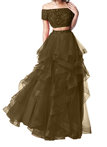 Langes Damen Weinrot Steine Ballkleider Charmant Braun Abiballkleider mit Elegant Promkleider A Abendkleider Linie w1Stapq