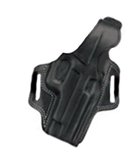 Galco Fletch High Ride Belt Holster for S&W L FR 686 4-Inch (Black, Left-hand)