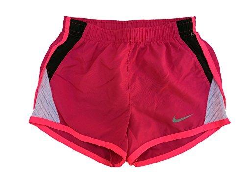 Nike Little Girls' Tempo Shorts (6X, Vivid Pink)