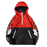 Men Jacket Plus Size,Vanvler Male Autum Winter Coat Long Sleeve Hooded Sweatshirt Sport