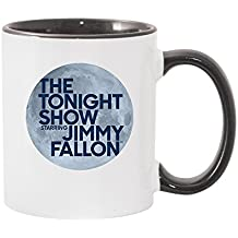 The Tonight Show Starring Jimmy Fallon White and Black Mug - 11 oz. - Official Coffee Mug