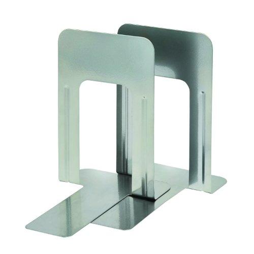 (Steelmaster MMF Industries Deluxe Steel 9-Inch Bookends (MMF241009150))
