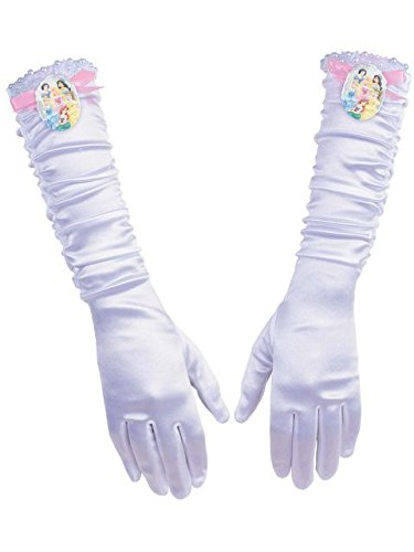 Full Length Disney Princess Gloves for Girls -