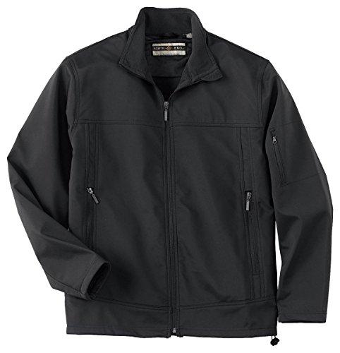 Ash City North End Mens Performance Soft Shell Jacket (88099) -Black -XL