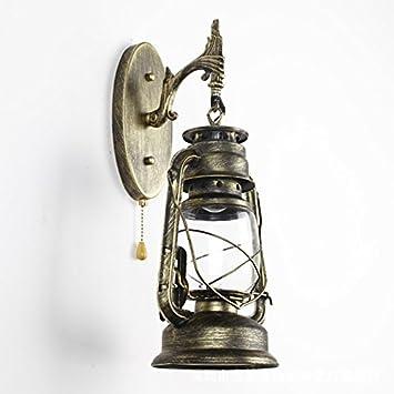OOFAY Wall Light@ Wall Lights Vintage Industrial Iron Art Nostalgia Kerosene Lights With Switch Northern