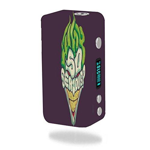 Smok Koopor Plus 200W Vape E-Cig Mod Box Vinyl DECAL STICKER Skin Wrap / Laughing Clown]()