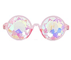 Amazon Prime Deals,festivals Kaleidoscope Glasses Rainbow Prism Sunglasses Goggles