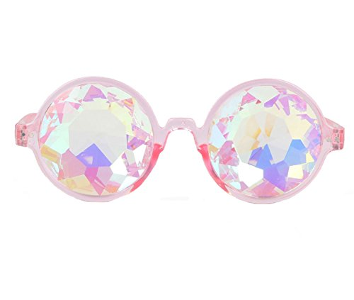 Amazon Prime Deals,Festivals Kaleidoscope Glasses Rainbow Prism Sunglasses - Sunglasses Crazy