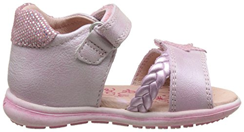 Garvalin Strell - Zapatos de primeros pasos Bebé-Niños Rosa (Magenta)