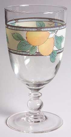 mikasa garden harvest 14 oz glassware goblet fine china dinnerware - Mikasa Garden Harvest