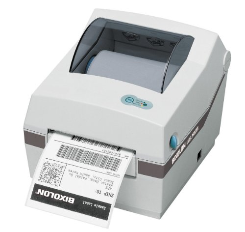 Bixolon SRP770II Monochrome Desktop Direct Thermal Label Receipt Printer, 5 in/s Print Speed, 203 dpi Print Resolution, 4.09'' Print Width, 24 VDC, White by BIXOLON