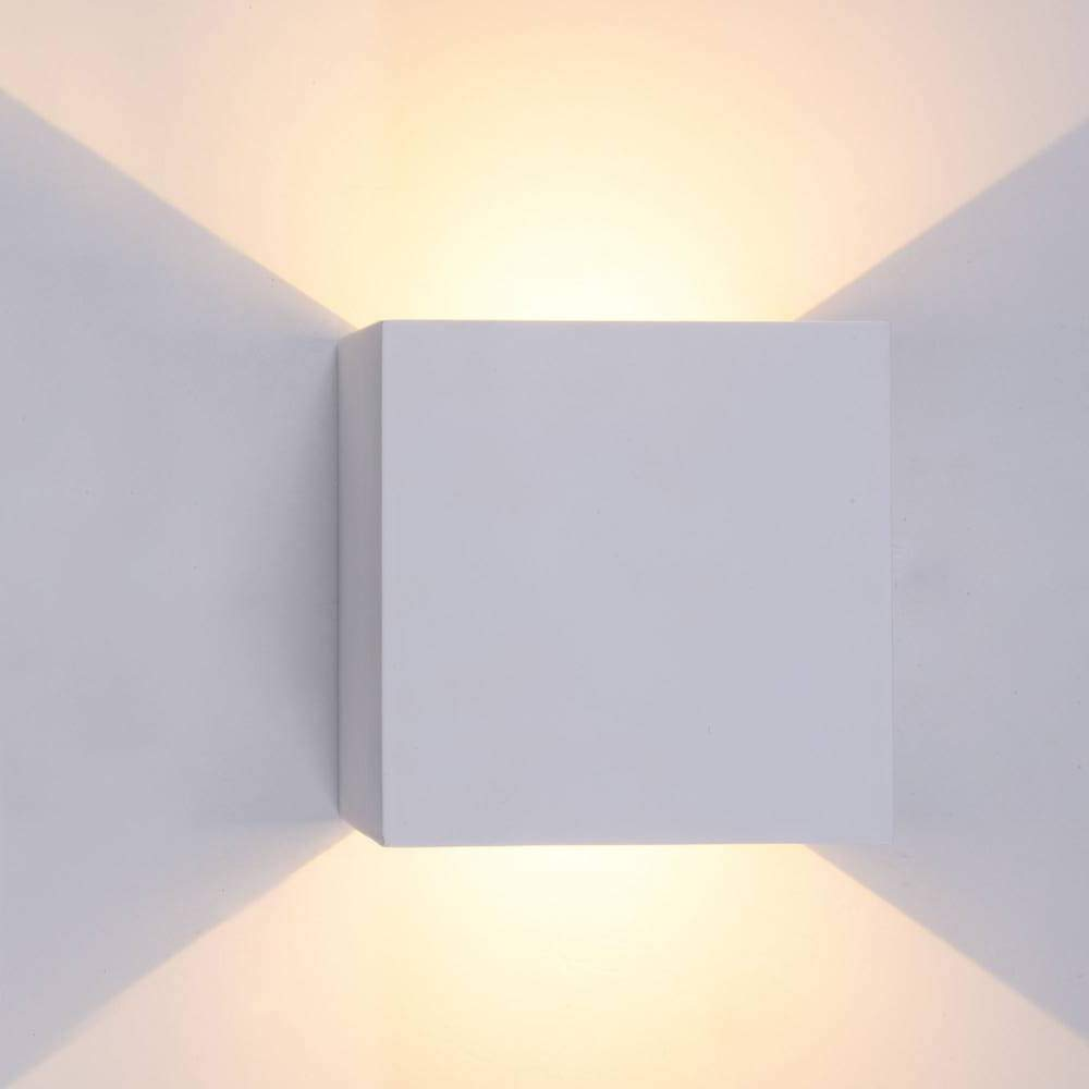 Led wall lamp up and down wall lights bedroom wall sconces 6w