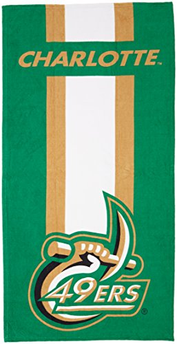 The Northwest Company NCAA UNC Charlotte Beach Towel, One Size, Multicolor by The Northwest Company