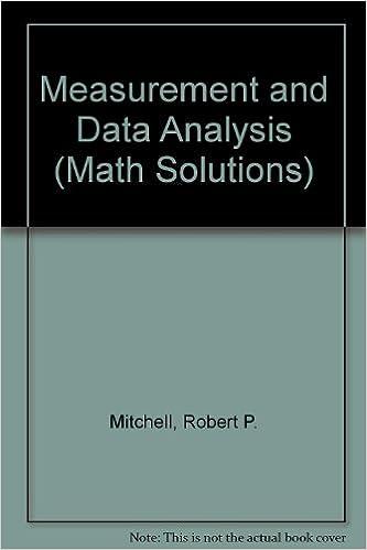 Amazon.com: Measurement and Data Analysis (Math Solutions ...