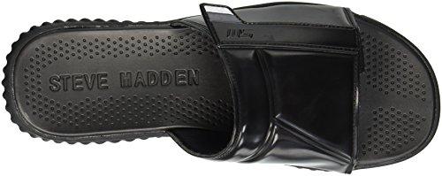 Slide Strand Madden Black Steve Sandal Men's nqTfBxWU