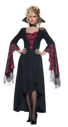 [Women's Sexy Vampire Queen Costume - The Countess] (Dracula Costumes For Women)