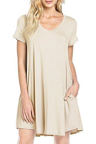 Womens Summer V neck Sleeve T Shirt product image