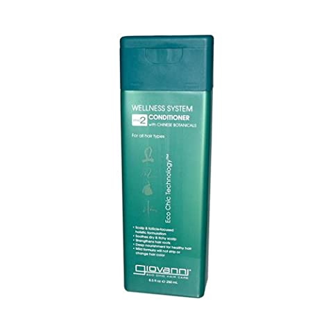 Giovanni Wellness System Step 2 Conditioner With Chinese Botanicals - 8.5 Fl Oz - 2 Step System