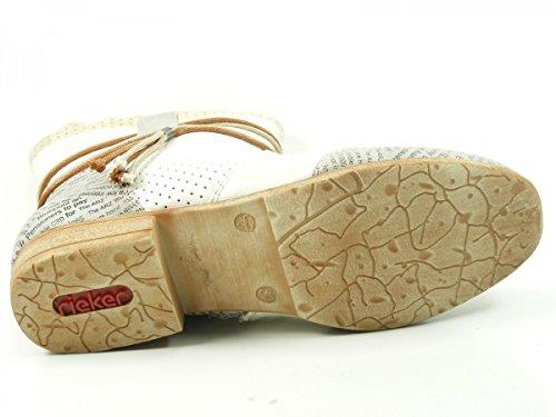 Rieker 97055 - botas de material sintético mujer Weiß