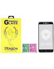 Dragon Anti-Fingerprint 5D Glass Screen Protector for Xiaomi Redmi 4X - Black