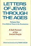 Letters of Jews Through the Ages, Franz Kobler, 0852222122