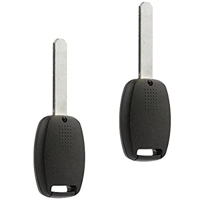 Key Fob Keyless Entry Remote fits Honda Accord/CR-V/CR-Z/Fit / Insight 2007 2008 2009 2010 2011 2012 2013 2014 2015 (MLBHLIK-1T), Set of 2: Automotive