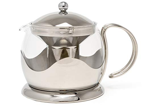 Cafetiere Teapot La - La Cafetiere Le Teapot 4-Cup Tea Infuser (Stainless Steel)