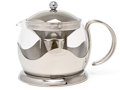 - La Cafetiere Le Teapot 4-Cup Tea Infuser (Stainless Steel)