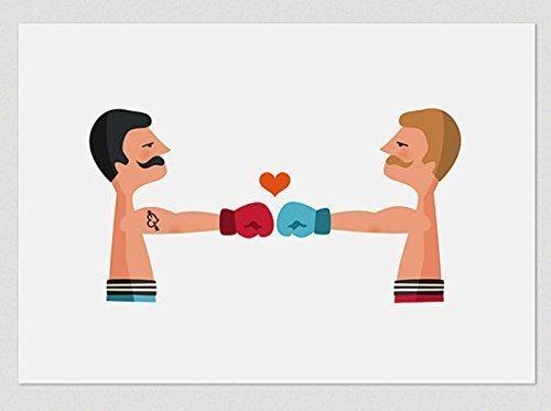 Idea A3 Os Boxer - Print